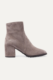 Selleria suede ankle boots