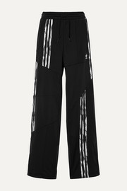 adidas Originals + Daniëlle Cathari Firebird paneled striped tech-jersey track pants