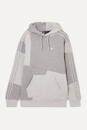 adidas Originals + Daniëlle Cathari patchwork cotton-terry hoodie