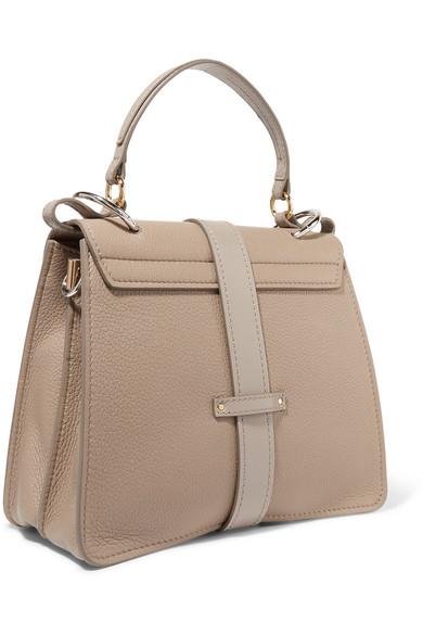 63be20e09a Chloé | Aby small textured-leather tote | NET-A-PORTER.COM