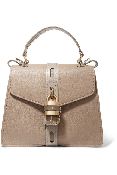 a23dd271d2 Aby small textured-leather tote