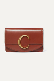 Chloé C leather wallet