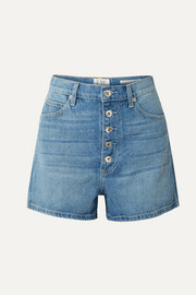 Leo denim shorts