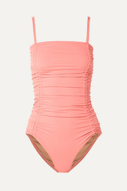 Three Graces London Helena ruched swimsuit