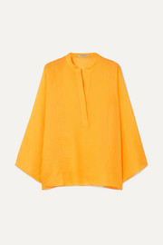 Three Graces London Angelique ramie blouse