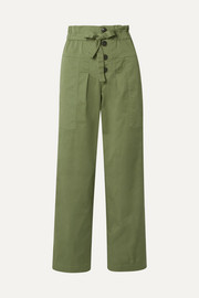SEA Tula cotton-blend twill pants