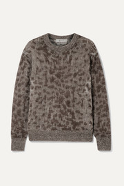 SEA Jacquard-knit sweater