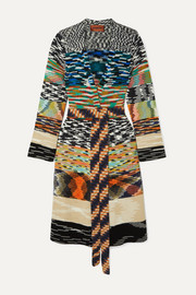 Missoni Belted chunky-knit cardigan