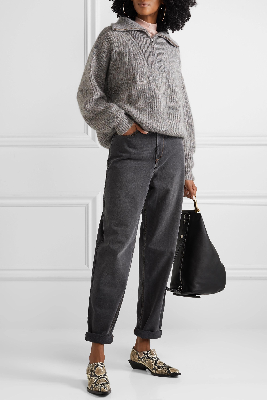 Isabel Marant Étoile Myclan ribbed-knit sweater