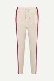 Isabel Marant Étoile Darion striped knitted track pants