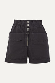 Lizy cotton-canvas shorts