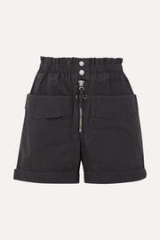 이자벨 마랑 에뚜왈 리지 반바지 Isabel Marant Etoile Lizy cotton-canvas shorts