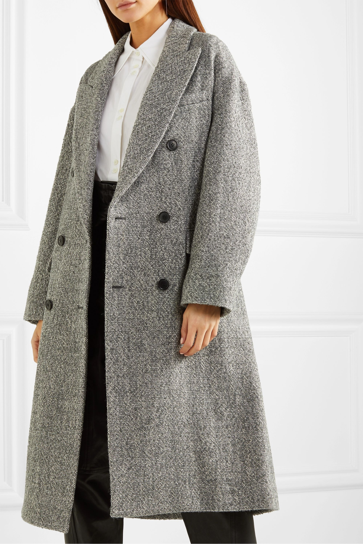Isabel Marant Étoile Habra doppelreihiger Mantel aus Bouclé