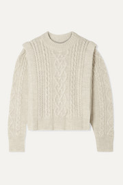 Tayle cable-knit wool sweater