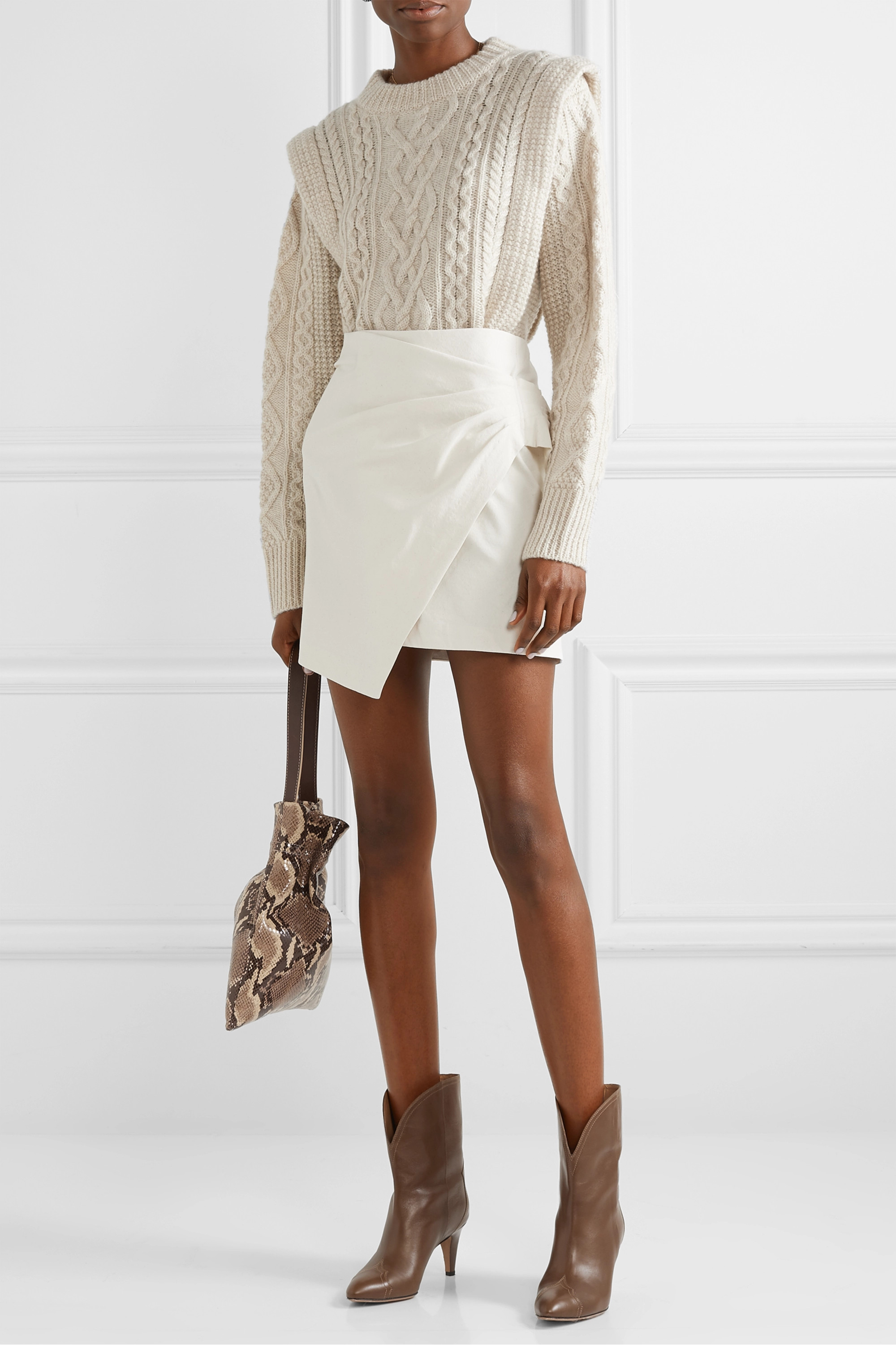 Isabel Marant Étoile Tayle cable-knit wool sweater