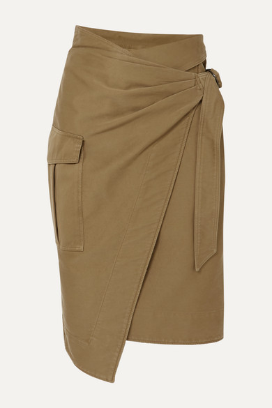 Giulia Cotton Twill Wrap Skirt by Isabel Marant Étoile