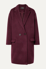 Isabel Marant Filipo oversized double-breasted wool-blend felt coat