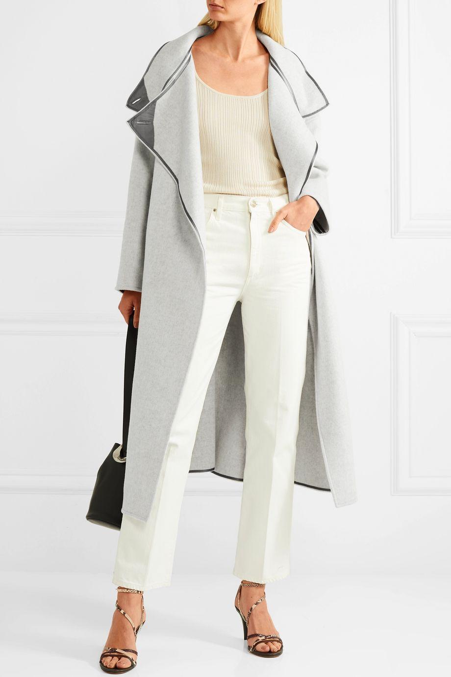 Isabel Marant Relton oversized brushed wool-blend coat