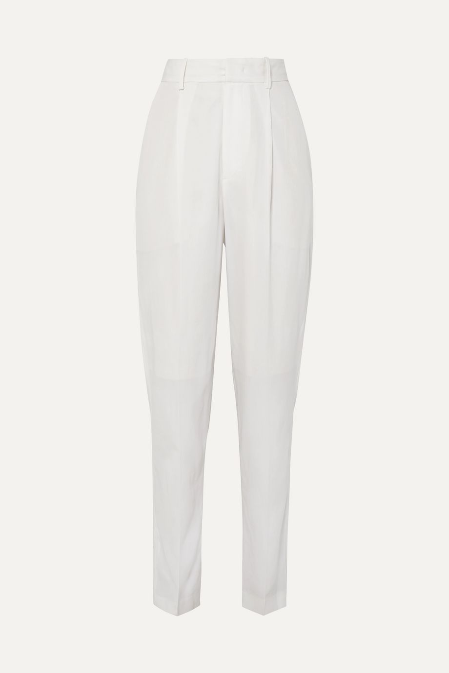 Isabel Marant Boyd pleated wool tapered pants