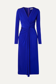 Jason Wu Collection Twist-front stretch-jersey midi dress