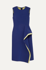 Jason Wu Collection Draped two-tone crepe dress