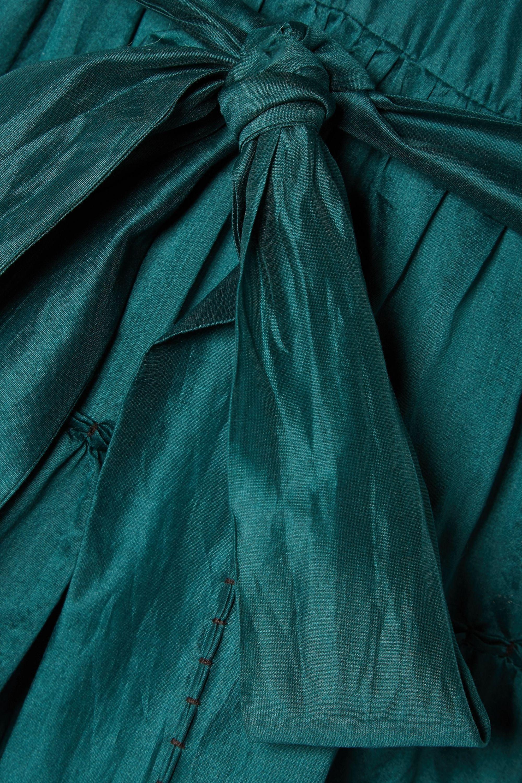 Ulla Johnson Severine ruffled tiered cotton and silk-blend maxi dress