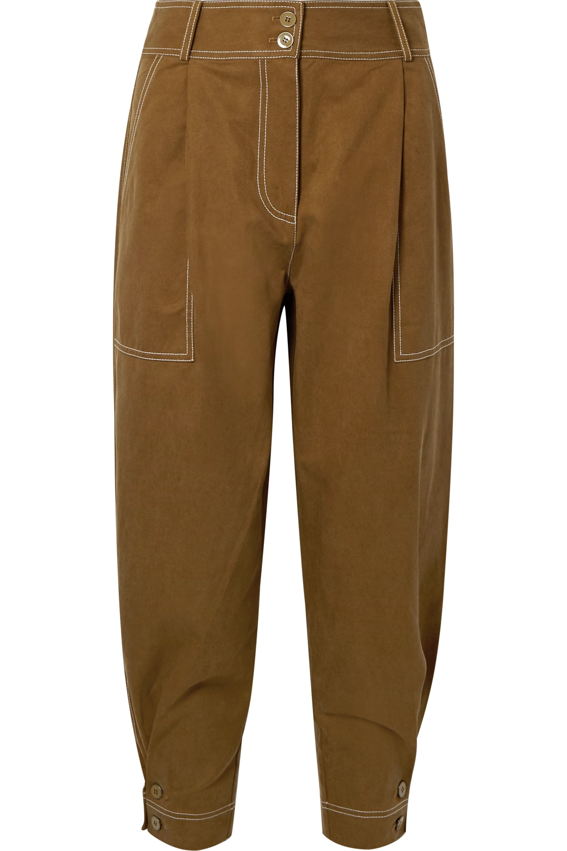 Ulla Johnson Fleet Tencel and cotton-blend pants