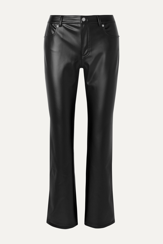 Alexander Wang Faux leather straight-leg pants