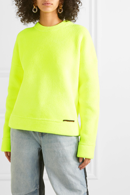 Alexander Wang Ribbed terry sweatshirt