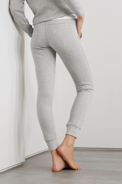 Calvin Klein Underwear Cotton-blend jersey track pants