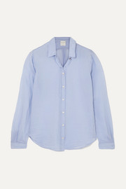 forte_forte Cotton and silk-blend voile shirt