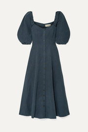 Mara Hoffman + NET SUSTAIN Mika Tencel and linen-blend maxi dress
