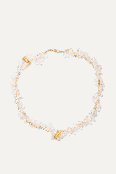 ALIGHIERI | Alighieri - Gold-Plated And Bead Necklace - One Size | Goxip