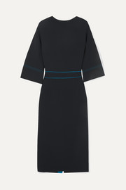 Roksanda Mave bow-embellished crepe dress