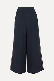 Roksanda Hasani cropped striped cady wide-leg pants