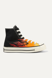 Chuck Taylor All Star 70 printed canvas high-top sneakers
