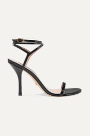 Merinda patent-leather sandals
