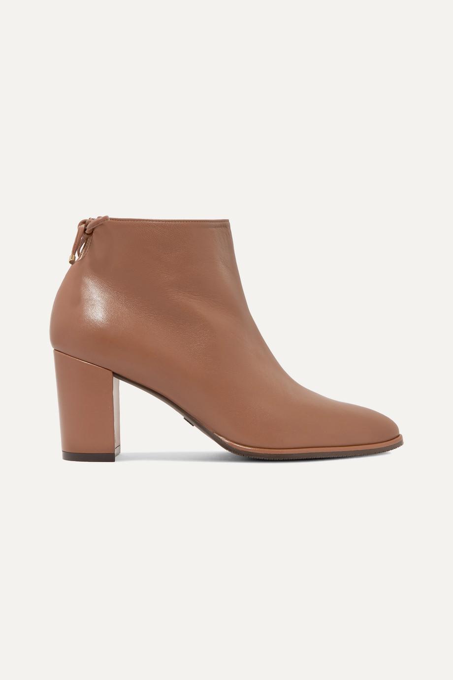 Stuart Weitzman Gardiner leather ankle boots