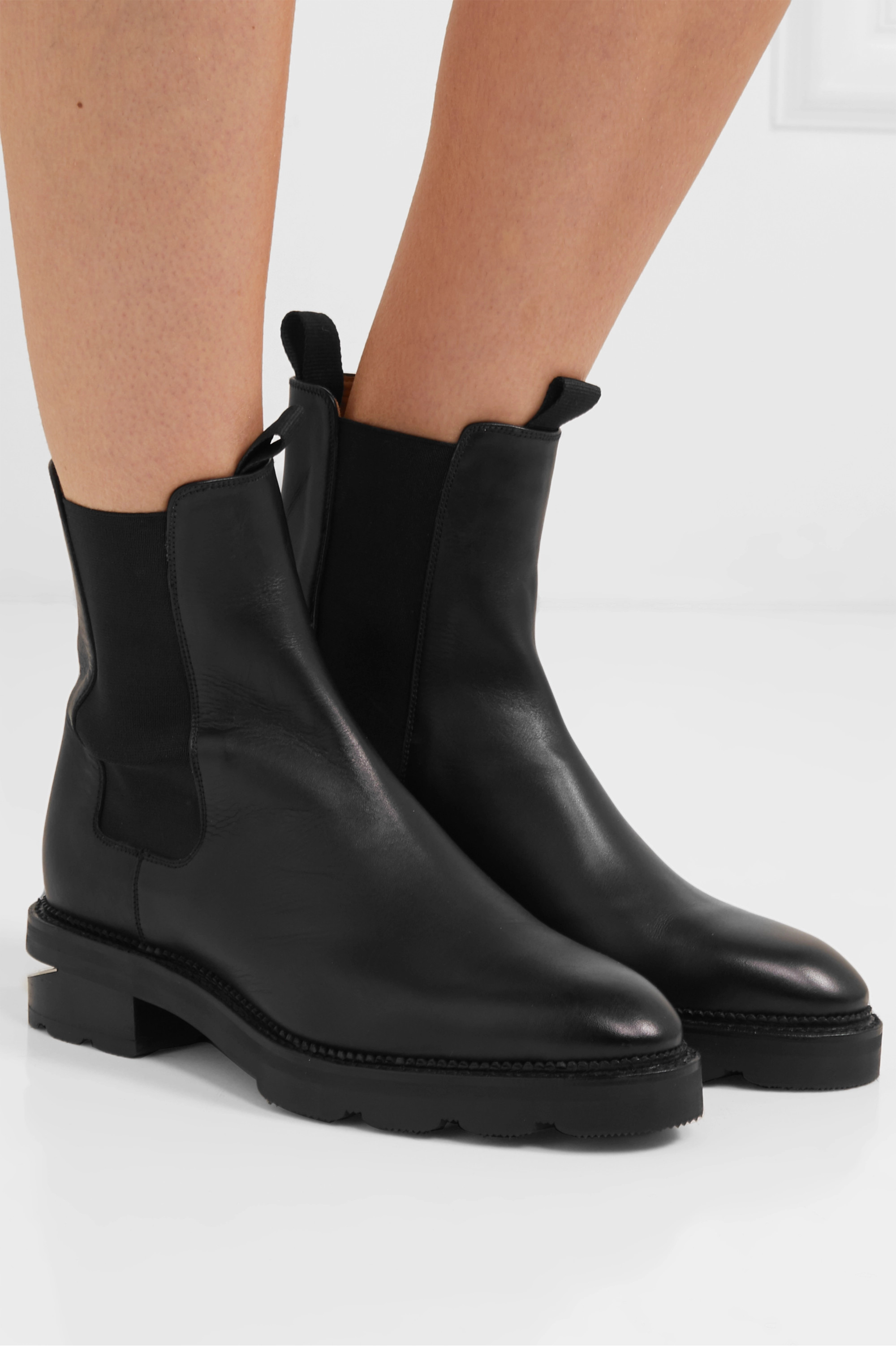 Alexander Wang Andee cutout leather Chelsea boots