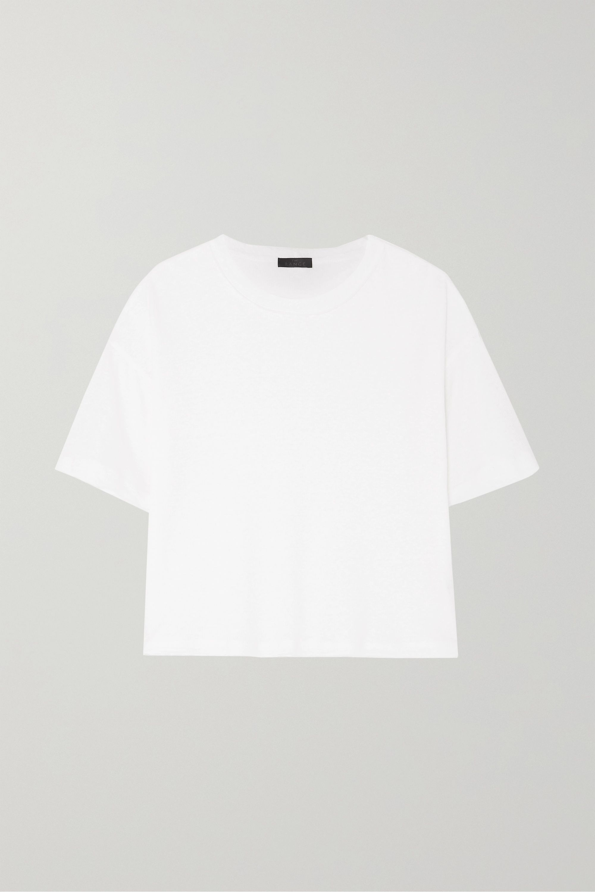 The Range Shadow slub linen-blend T-shirt