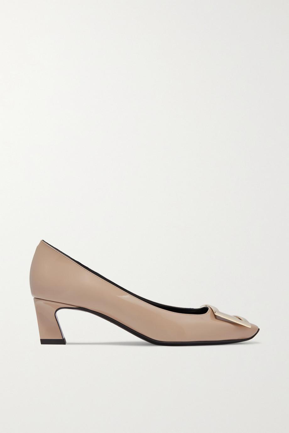 Roger Vivier Belle Vivier Trompette 漆皮中跟鞋