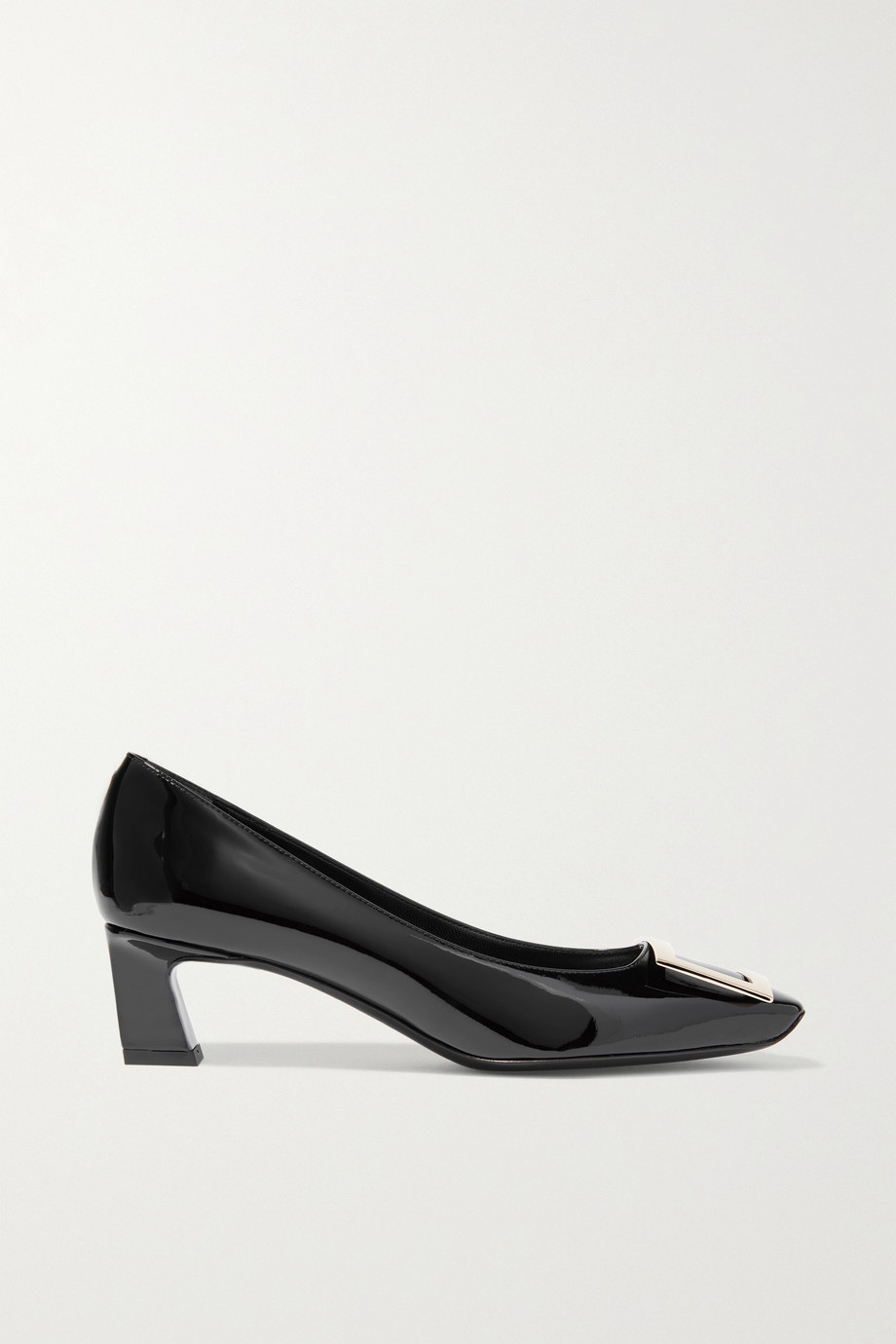 Roger Vivier Decollete Trompette 漆皮中跟鞋