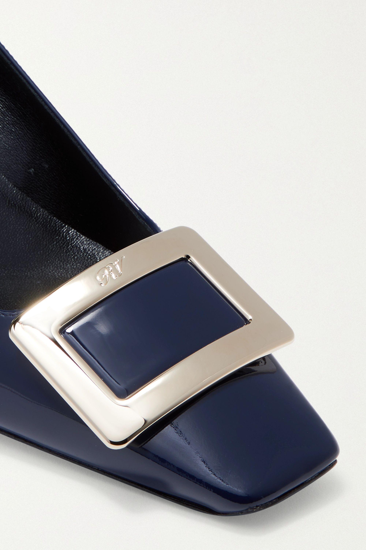 Roger Vivier Belle Vivier patent-leather pumps