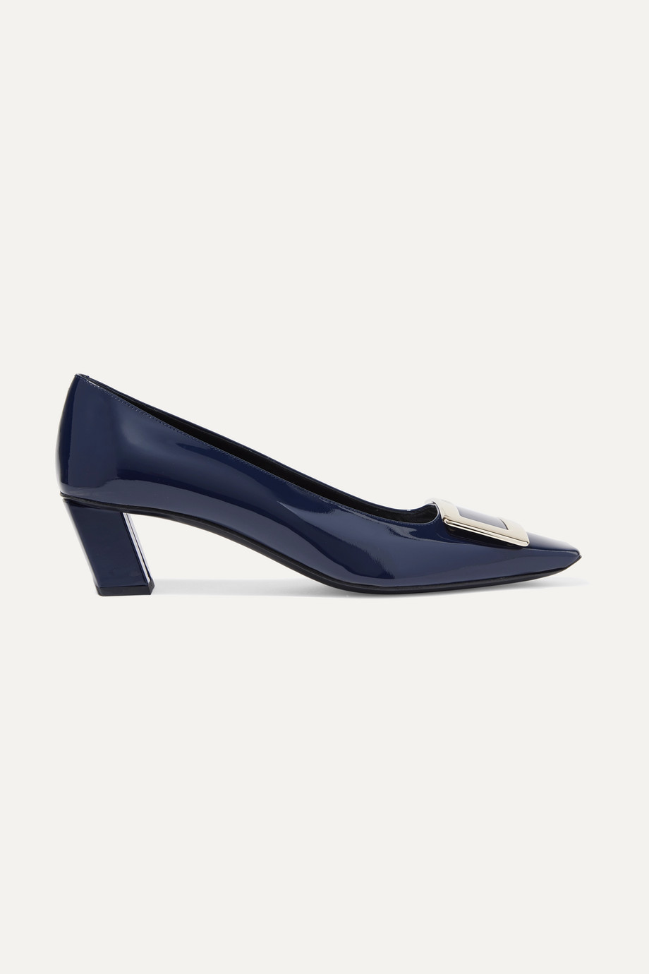Roger Vivier Belle Vivier patent-leather pumps