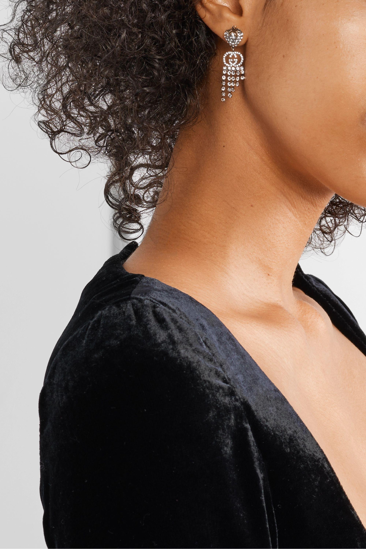 Gucci Gold-tone crystal earrings