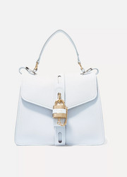 Chloé Aby small textured-leather tote