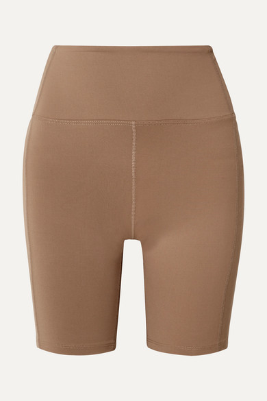 YEAR OF OURS | Year Of Ours - Diana Stretch Shorts - Tan | Goxip