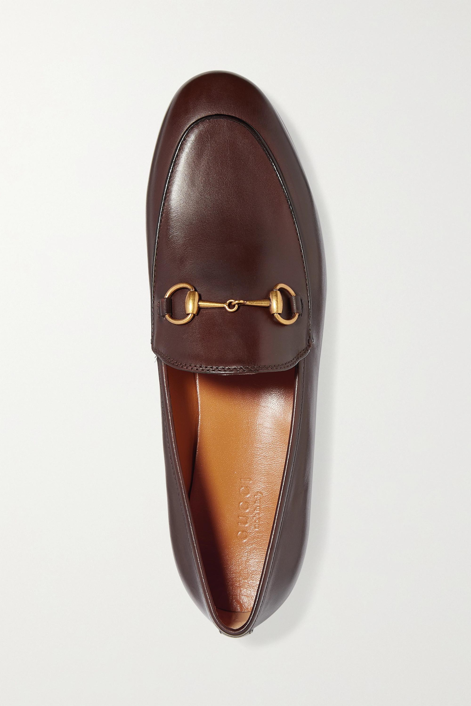 Gucci Jordaan 马衔扣细节皮革乐福鞋