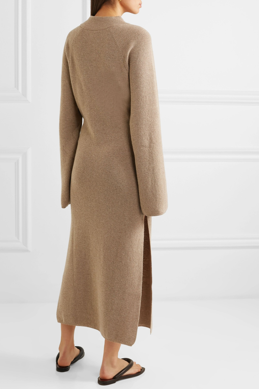 Nanushka Mahali ribbed-knit maxi dress