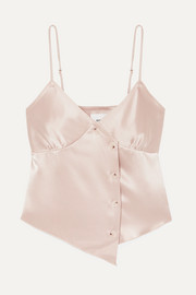 Abio Top aus Satin